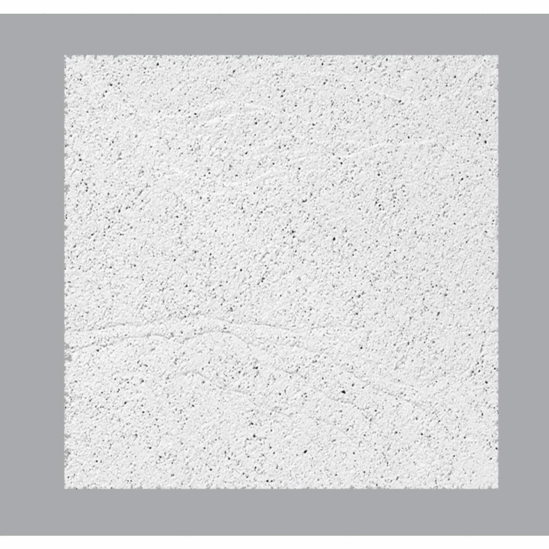 Sandrift ClimaPlus 2 Ft. x 2 Ft. White Cast Mineral Fiber Ceiling Tile (8-Count) Image 1