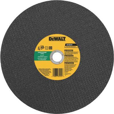 DeWalt High Performance 14 In. x 1/8 In. x 20mm Type 1 Masonry Cut-Off Wheel
