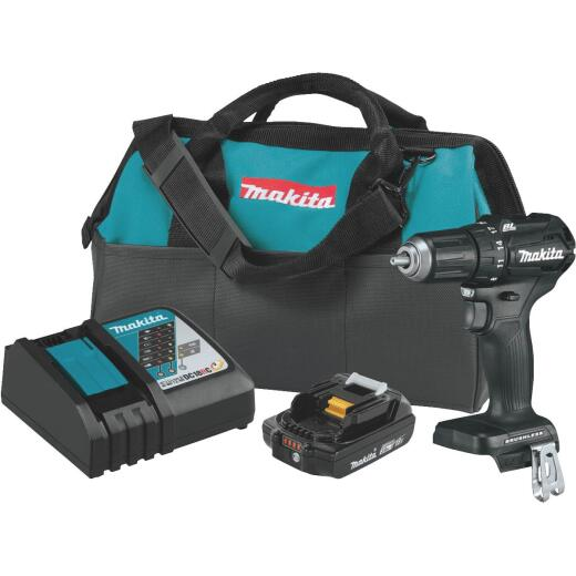Makita 18 Volt LXT Lithium-Ion 1/2 In. Brushless Sub-Compact Cordless Drill Kit