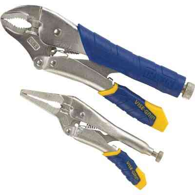 Irwin Vise-Grip Fast Release Locking Pliers Set (2-Piece)