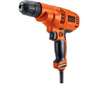 Black & Decker 3/8 In. 5.2-Amp Keyless Electric Drill/Driver Image 5
