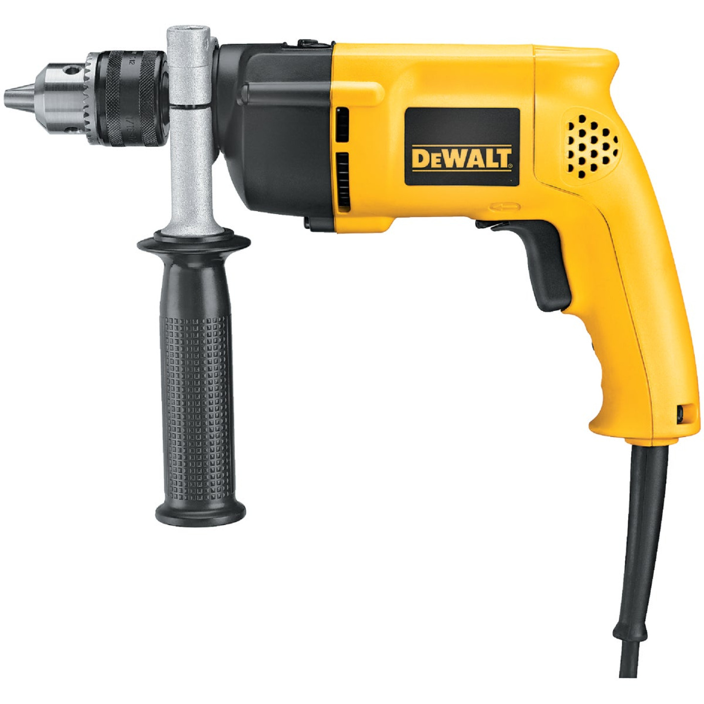 DeWalt 1/2 In. Keyed 8.5-Amp VSR Single-Speed Electric Hammer Drill Image 2