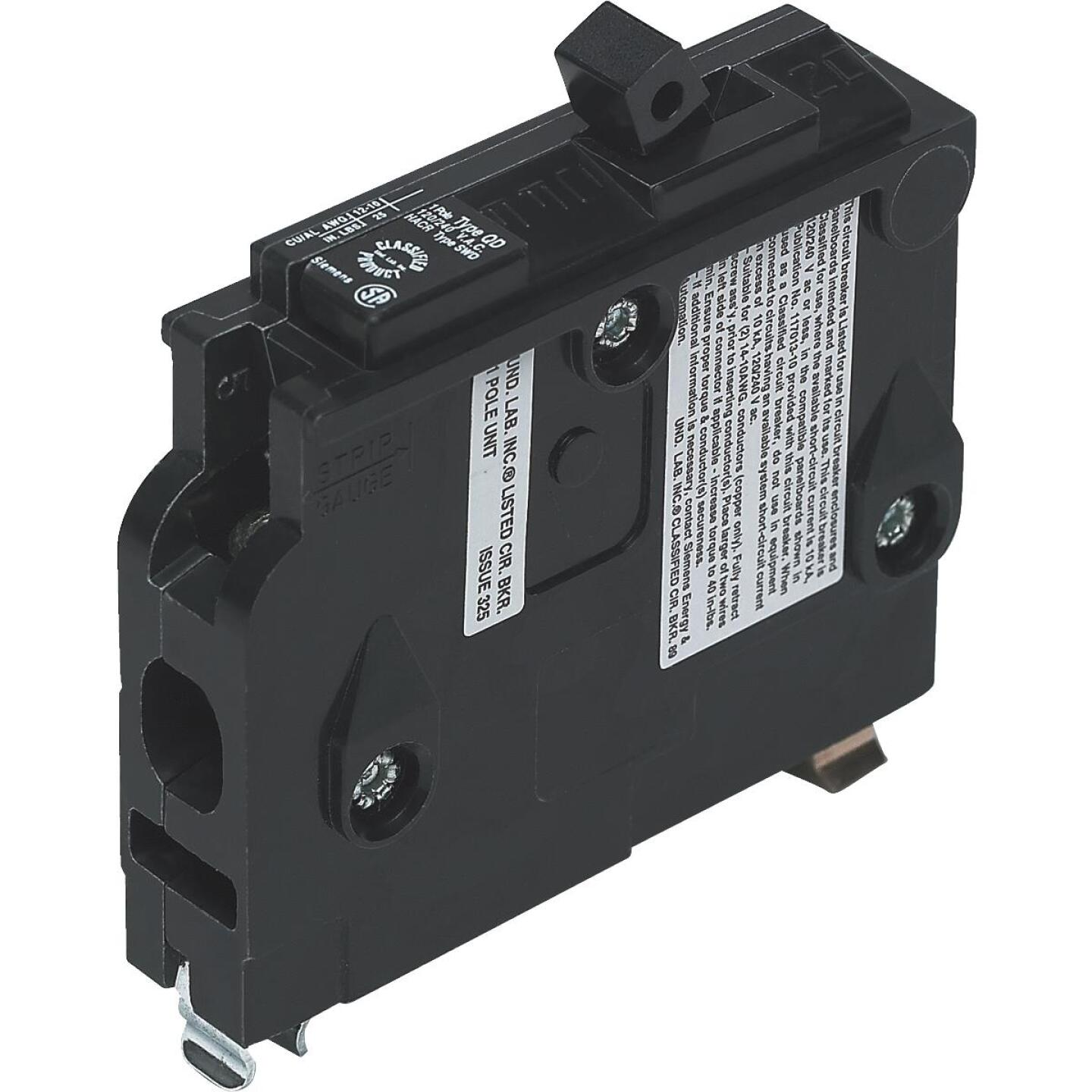 Connecticut Electric 15A Single-Pole Standard Trip Packaged Replacement Circuit Breaker For Square D Image 1