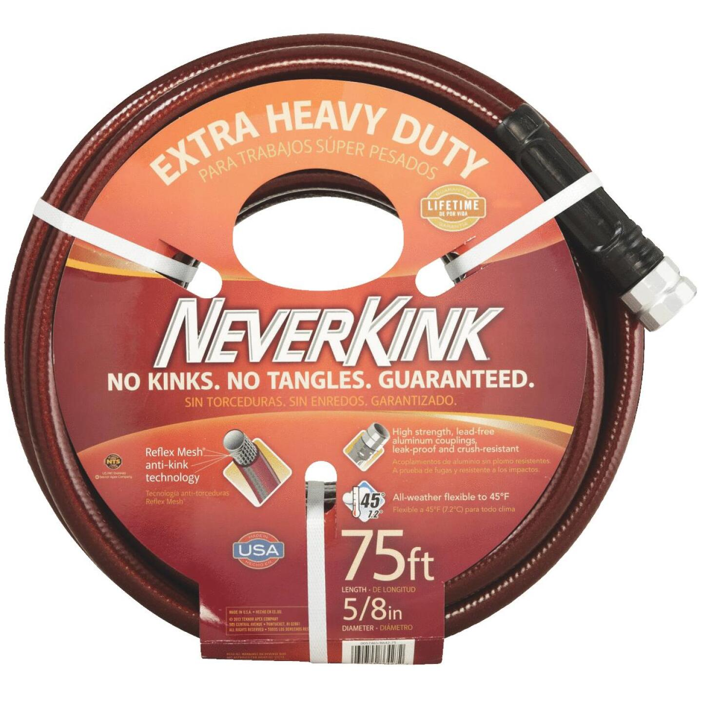Neverkink 5/8 In. Dia. x 75 Ft. L. Extra Heavy-Duty Garden Hose Image 1