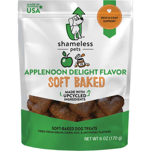 Shameless Pets Applenoon Delight Soft Baked Dog Treat, 6 Oz.