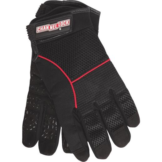 Channellock Men's Medium Synthetic Leather Utility Grip High Performance Glove