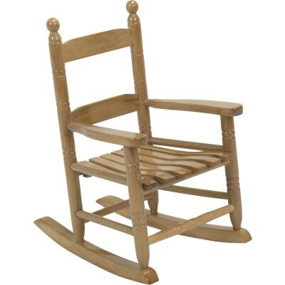 Knollwood Natural Wood Child Rocking Chair